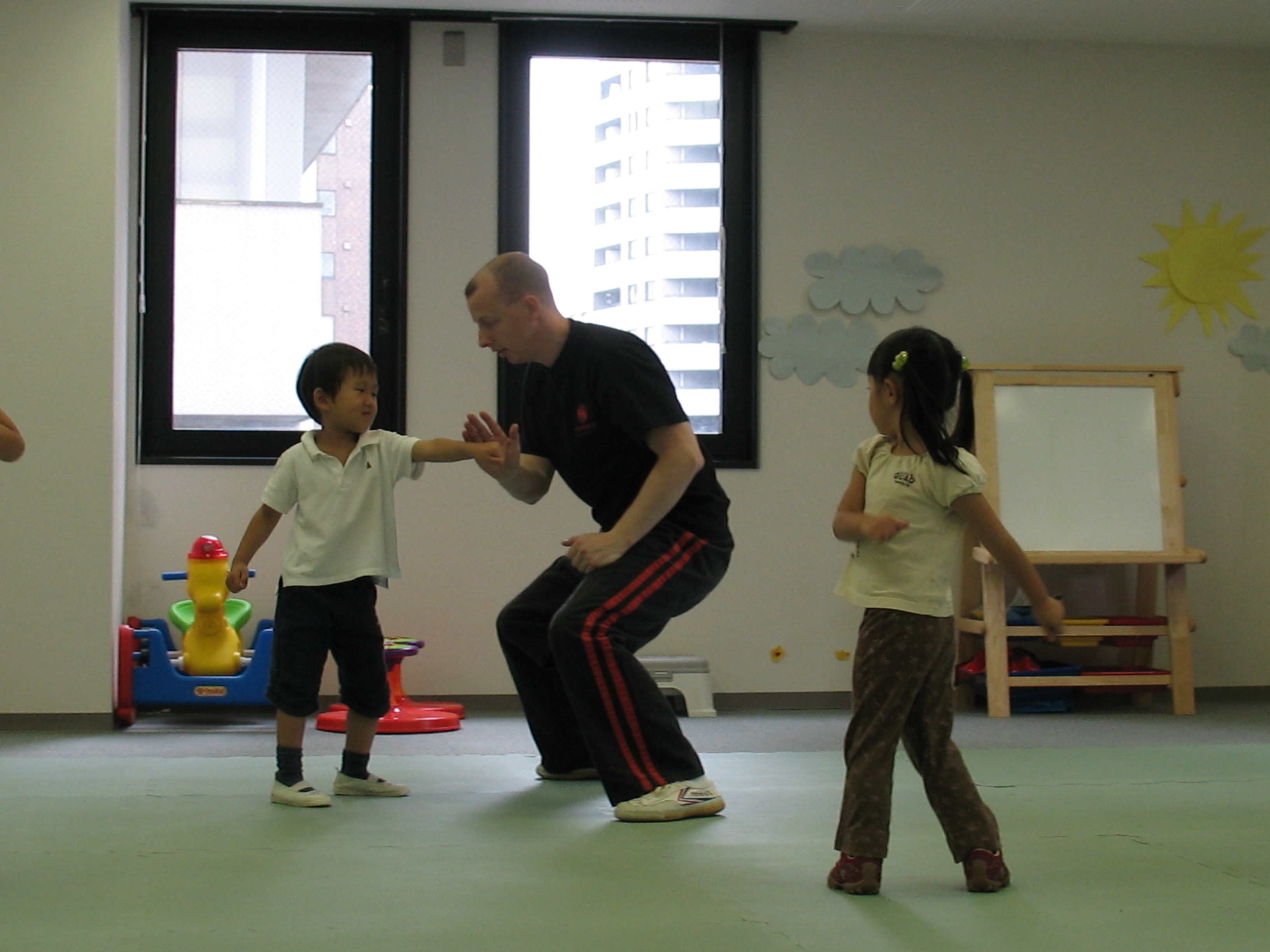 Youth fist kung fu